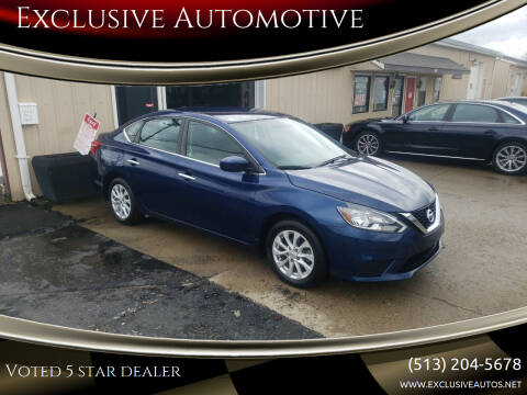 2019 Nissan Sentra for sale at Exclusive Automotive in West Chester OH