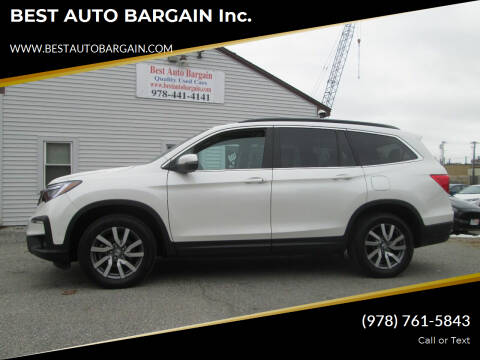 2019 Honda Pilot for sale at BEST AUTO BARGAIN inc. in Lowell MA