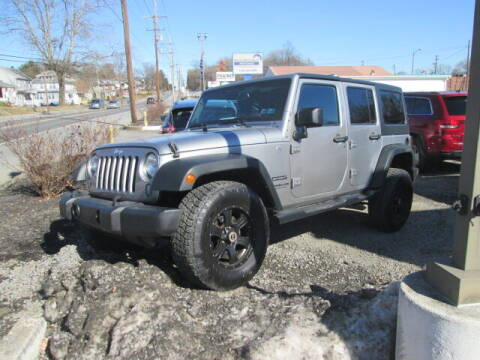 2014 Jeep Wrangler Unlimited for sale at Access Auto Brokers in Hagerstown MD