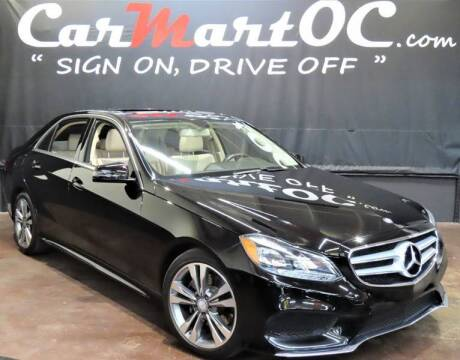 2016 Mercedes-Benz E-Class for sale at CarMart OC in Costa Mesa, Orange County CA