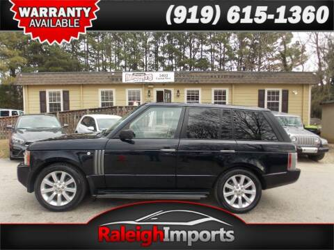 2009 Land Rover Range Rover for sale at Raleigh Imports in Raleigh NC