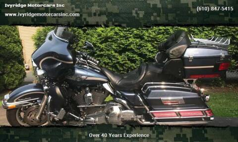2003 Harley Davidson Ultra Classic for sale at Ivyridge Motorcars Inc in Ottsville PA