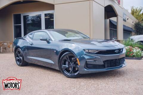 2020 Chevrolet Camaro for sale at Mcandrew Motors in Arlington TX