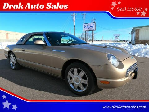 2005 Ford Thunderbird for sale at Druk Auto Sales in Ramsey MN