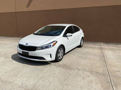 2017 Kia Forte for sale at ALL STAR MOTORS INC in Houston TX