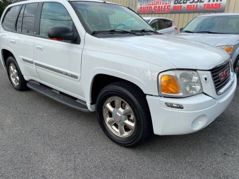 2002 GMC Envoy for sale at Stikeleather Auto Sales in Taylorsville NC
