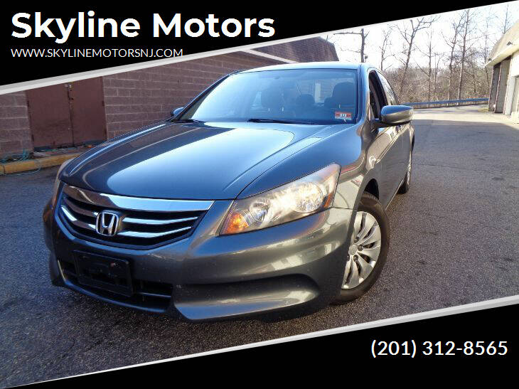 2011 Honda Accord for sale at Skyline Motors in Ringwood NJ