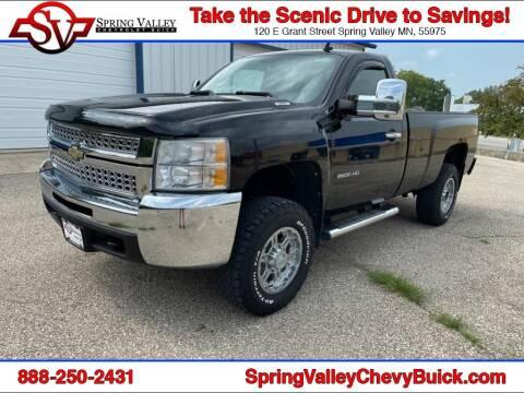 2010 Chevrolet Silverado 2500HD for sale at Spring Valley Chevrolet Buick in Spring Valley MN