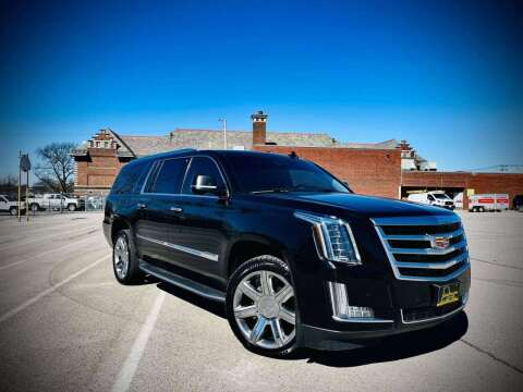 2016 Cadillac Escalade ESV for sale at ARCH AUTO SALES in St. Louis MO