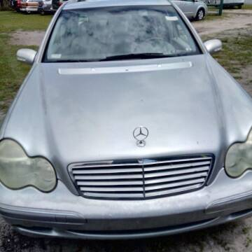 2002 Mercedes-Benz C-Class for sale at MOTOR VEHICLE MARKETING INC in Hollister FL