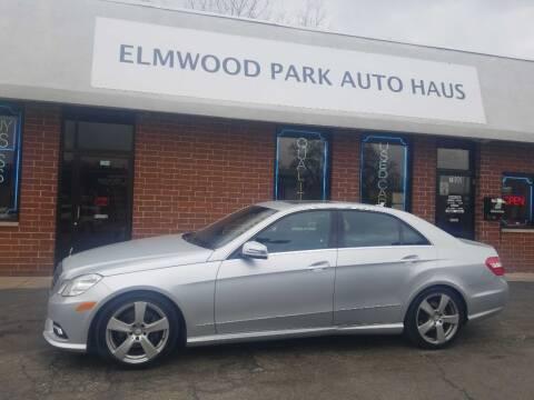 2011 Mercedes-Benz E-Class for sale at Elmwood Park Auto Haus in Elmwood Park IL