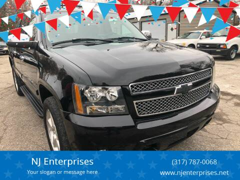 2008 Chevrolet Avalanche for sale at NJ Enterprises in Indianapolis IN