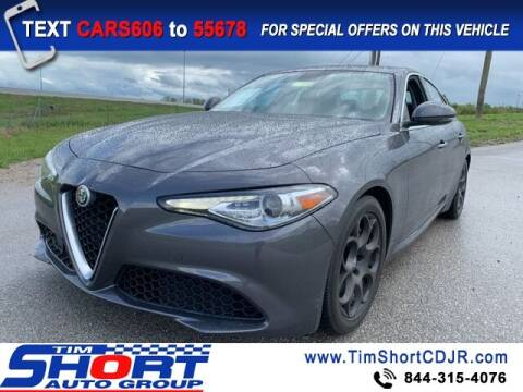 2017 Alfa Romeo Giulia for sale at Tim Short Chrysler in Morehead KY