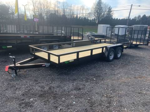 2021 MCT 7x20 Landscape for sale at Smart Choice 61 Trailers in Shoemakersville PA