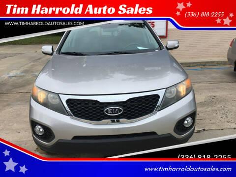 2013 Kia Sorento for sale at Tim Harrold Auto Sales in Wilkesboro NC