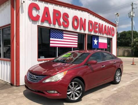 2011 Hyundai Sonata for sale at Cars On Demand 3 in Pasadena TX