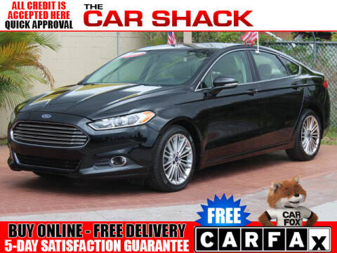 2016 Ford Fusion for sale at The Car Shack in Hialeah FL