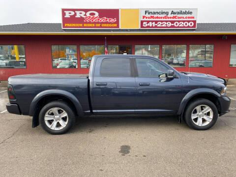 2013 RAM Ram Pickup 1500 for sale at Pro Motors in Roseburg OR