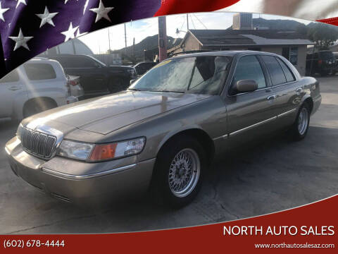 2002 Mercury Grand Marquis for sale at North Auto Sales in Phoenix AZ