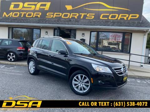 2011 Volkswagen Tiguan for sale at DSA Motor Sports Corp in Commack NY