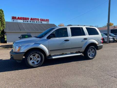 2005 Dodge Durango for sale at BLAESER AUTO LLC in Chippewa Falls WI