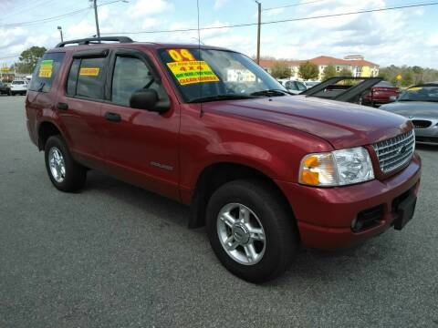 2004 Ford Explorer for sale at Kelly & Kelly Supermarket of Cars in Fayetteville NC