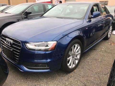 2014 Audi A4 for sale at SILVER ARROW AUTO SALES CORPORATION in Newark NJ