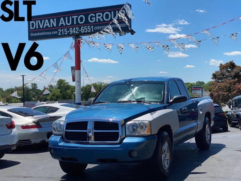 2005 Dodge Dakota for sale at Divan Auto Group in Feasterville Trevose PA