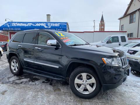 2012 Jeep Grand Cherokee for sale at Gonzalez Auto Sales in Joliet IL