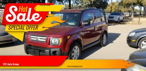 2008 Honda Element for sale at STX Auto Group in San Antonio TX