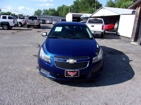 2012 Chevrolet Cruze for sale at LEE AUTO SALES in McAlester OK