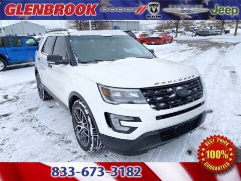 2016 Ford Explorer for sale at Glenbrook Dodge Chrysler Jeep Ram and Fiat in Fort Wayne IN