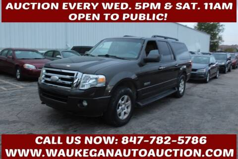 2007 Ford Expedition EL for sale at Waukegan Auto Auction in Waukegan IL