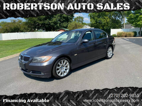 2006 BMW 3 Series for sale at ROBERTSON AUTO SALES in Bowling Green KY