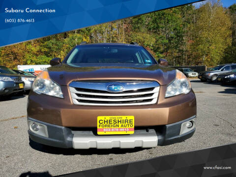 2011 Subaru Outback for sale at Subaru Connection in Marlborough NH