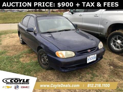 1998 Kia Sephia for sale at COYLE GM - COYLE NISSAN in Clarksville IN