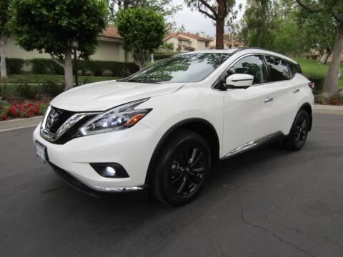 2018 Nissan Murano for sale at E MOTORCARS in Fullerton CA