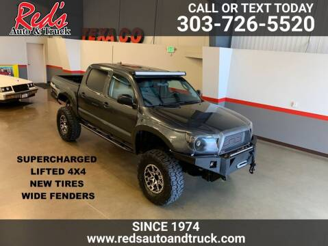 2009 Toyota Tacoma for sale at Red's Auto and Truck in Longmont CO