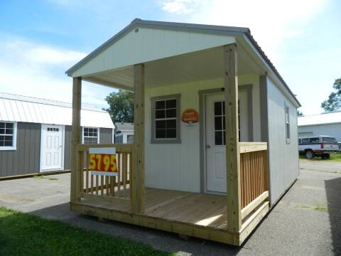2020 Premier Buildings cabin 10x24 for sale at Triple R Sales in Lake City MN