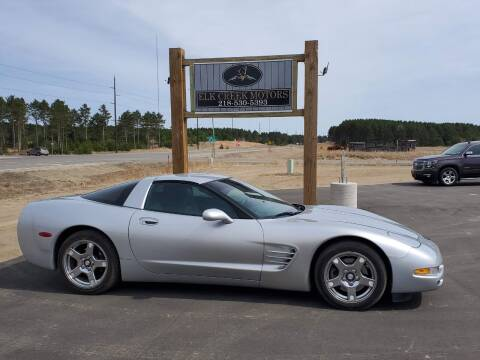 1999 Chevrolet Corvette for sale at Elk Creek Motors LLC in Park Rapids MN