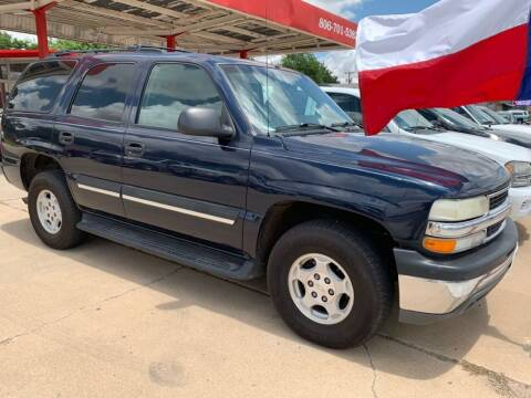 2004 Chevrolet Tahoe for sale at KD Motors in Lubbock TX