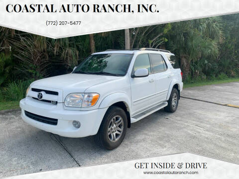 2007 Toyota Sequoia for sale at Coastal Auto Ranch, Inc. in Port Saint Lucie FL
