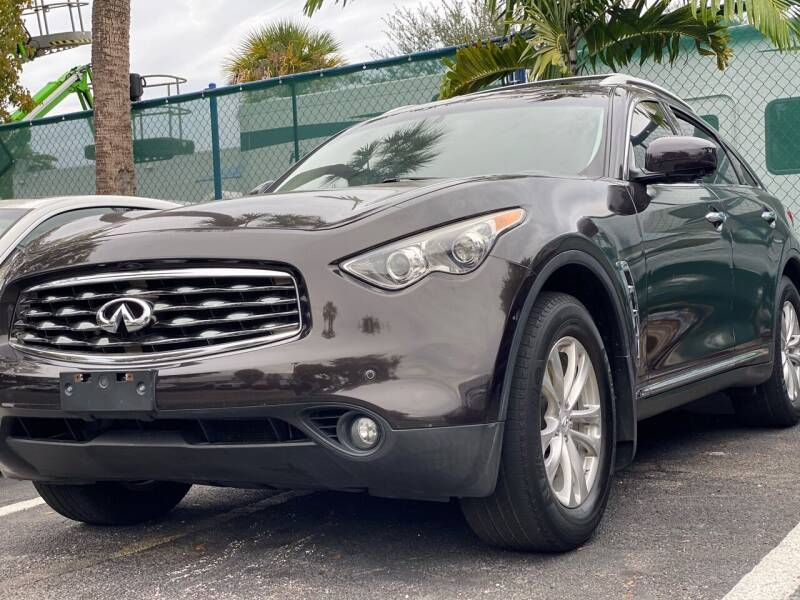 2011 Infiniti FX35 for sale at HIGH PERFORMANCE MOTORS in Hollywood FL