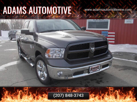 2017 RAM Ram Pickup 1500 for sale at Adams Automotive in Hermon ME