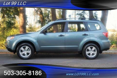 2013 Subaru Forester for sale at LOT 99 LLC in Milwaukie OR