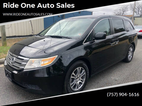 2011 Honda Odyssey for sale at Ride One Auto Sales in Norfolk VA