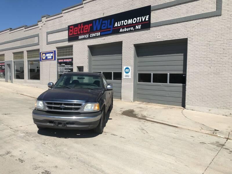2002 Ford F-150 for sale at Betterway Automotive Inc - of Auburn in Auburn NE