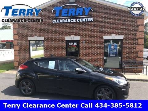 2012 Hyundai Veloster for sale at Terry Clearance Center in Lynchburg VA