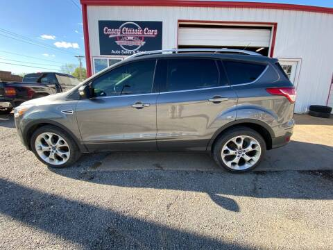2013 Ford Escape for sale at Casey Classic Cars in Casey IL