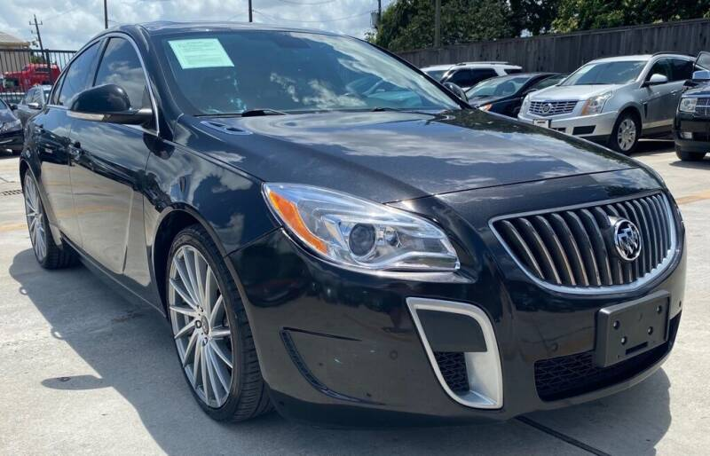 2013 Buick Regal for sale at DYNAMIC AUTO GROUP in Houston TX